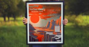 Tavla med Mattias Alkbergs turnéposter