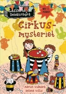 Cirkusmysteriet är en av Stadsbiblioteket i Kulturens hus mest utlånade böcker.