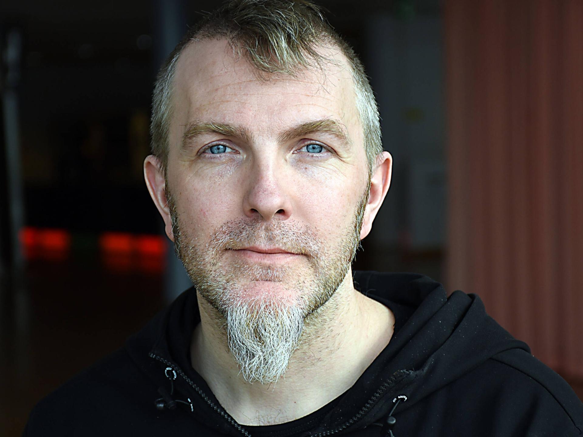Kaj Molin är en av fyra ljud- och ljustekniker på Kulturens hus.